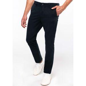 Pantalon chino homme moderne et légèrement stretch pour plus d'aisance