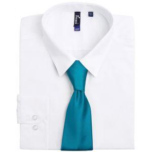 Cravate en satin élégant au fini brillant