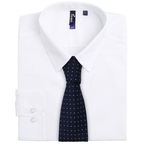 Cravate à petits pois