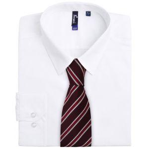 "Cravate rayée ""Waffle"""