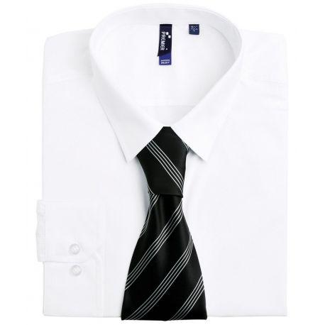 Cravate à quatre rayures