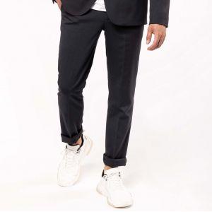 Pantalon homme coupe ajustée, 220 g/m²