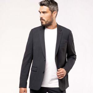 Veste de costume pour homme coupe ajustée, 220 g/m²