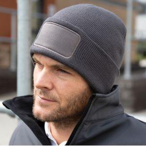 Bonnet imprimable sur patch épais et résistant NO LABEL, 340 g/m²