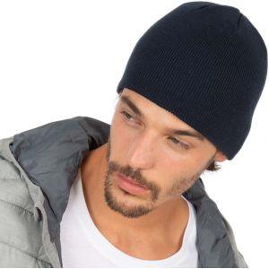 Bonnet tricoté isolant thermique adapté à toutes les saisons