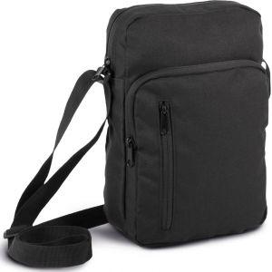 Grand sac bandoulière pour tablettes jusqu'à 10'' avec 2 poches zippées