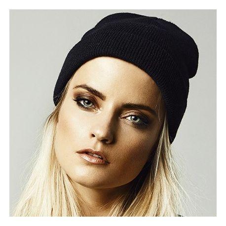 Bonnet épais en tricot super dense de haute qualité