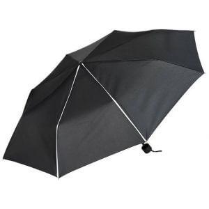 Parapluie de poche pliable Black & Match, ouverture manuelle