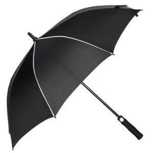 Parapluie de golf Black & Match, ouverture automatique