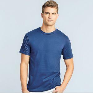 Tee-shirt premium homme coton ringspun, col rond, 185 g/m²