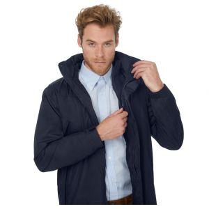 Parka corporate 3-en-1 imperméable à capuche, veste intérieure détachable