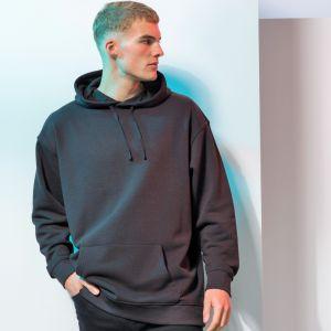 Sweat hoodie à capuche oversize unisexe moderne coupe slim, 250 g/m²