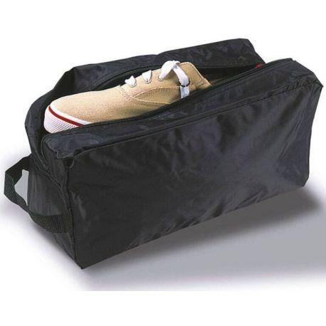 Sac à chaussures en nylon avec 4 poches zippées