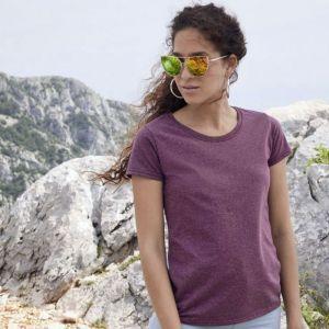 [PROMO] T-shirt femme ajusté col rond valueweight en coton, manches courtes, 165 g/m²