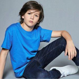 [PROMO] T-shirt enfant solide en coton ringspun, manches courtes, 180 g/m²