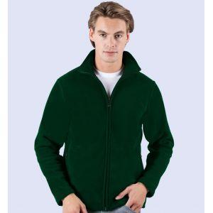 Veste polaire homme ton sur ton anti-peluche pas chère, 330 g/m²