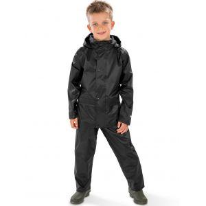 Ensemble pour enfant imperméable veste et pantalon avec capuche